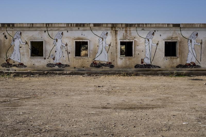 Dead Sea street art. Israel Photography Tour.